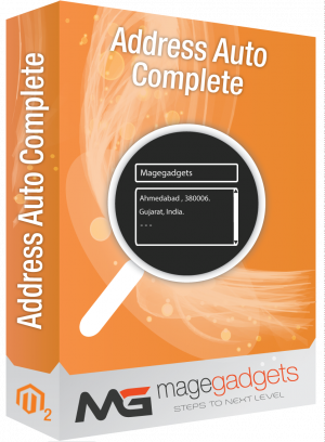 Address AutoComplete for Magento 2