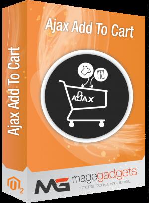 Ajax AddToCart for Magento 2