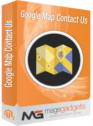 Google Map Contact Us for Magento 2