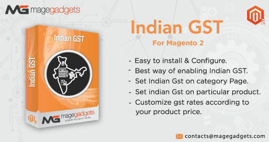 Indian GST For Magento 2 | Indian GST Extension By MageGadgets